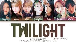 Download lagu [QUEENDOM] OH MY GIRL (오마이걸) - Twilight (Queendom Ver.) (Han|Rom|Eng) Color Coded Lyrics/한국어 가사