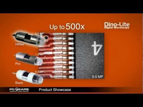 PC Gears Product Showcase - Dino Lite Digital Microscope