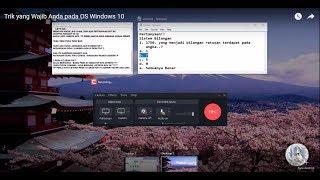Trik yang Wajib Anda Ketahui pada OS Windows 10