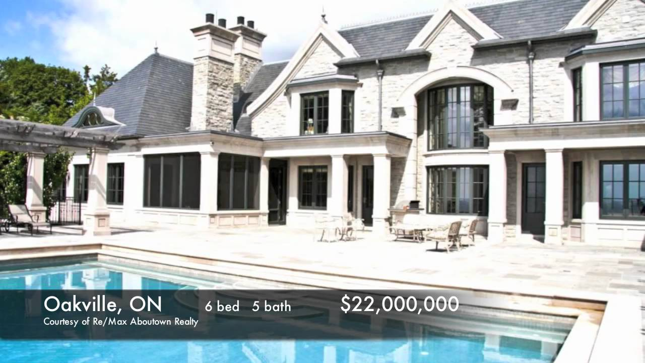 Top 8 most expensive luxury homes in canada fall 2010 by for Home builders in canada