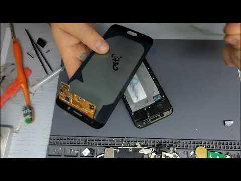 Samsung J730 Galaxy J7 (2017) - Замена дисплейного модуля.