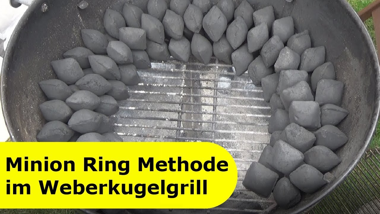 Weber Grill Master Touch 57 Cm 018 - Minion Ring Methode Für Kugelgrill - Youtube