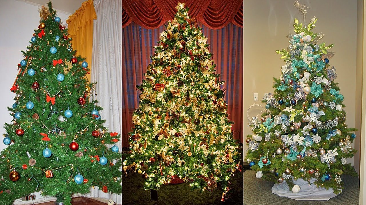 Ideas practicas de como decorar tu rbol de navidad 2018 - Como adornar mi arbol de navidad ...