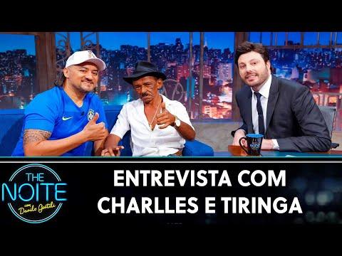 Entrevista com Charlles e Tiringa  The Noite 010819