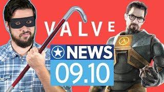 Dieb beklaut Valve mit einer Mülltonne - News