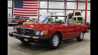 1983 Mercedes Benz 380SL Red