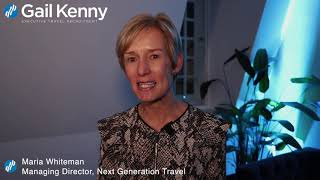Maria Whiteman, Next Generation Travel