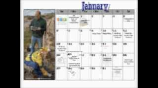 Free Calendar: Celebrate And Plan A Year Of Clean Water And Citizen Monitoring Activities