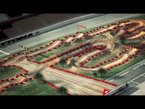 2013 Daytona Animated Track Map