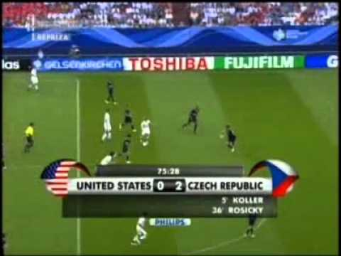 Česko - USA,MS 2006