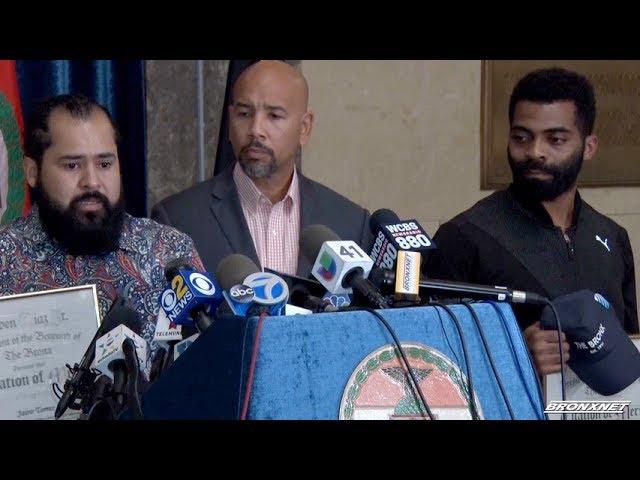 BP Diaz Jr. to Honor Bronx Subway Heroes | Bronx Currents