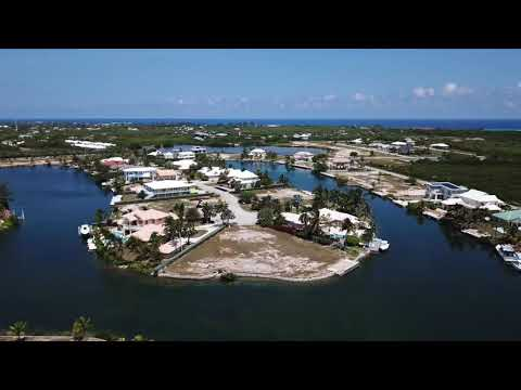 SOLD! |  Peninsula Canal Front Lot, The Shores  | Cayman Islands Sotheby's International Realty
