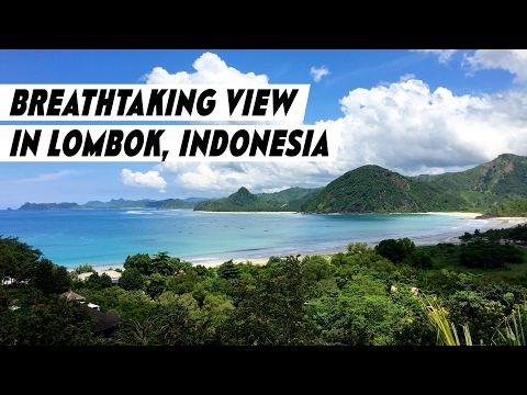 Breathtaking View Of The Beach From A Luxury Villa In Lombok Indonesia