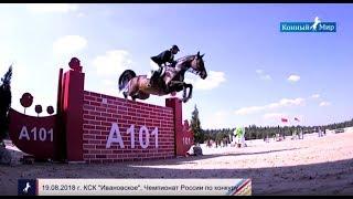 Конный спорт. Этап кубка мира по конкуру в Санкт-Петербурге