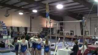 Jaden Andrus Level 9 gymnastics routines- age 11