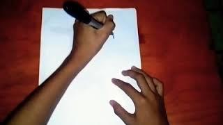 Como dibujar al pájaro loco/How to draw crazy bird