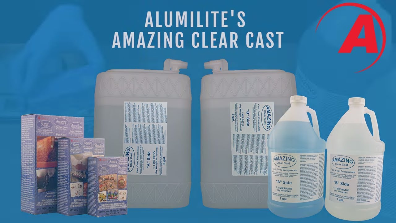 Amazing Clear Cast Resin by Alumilite