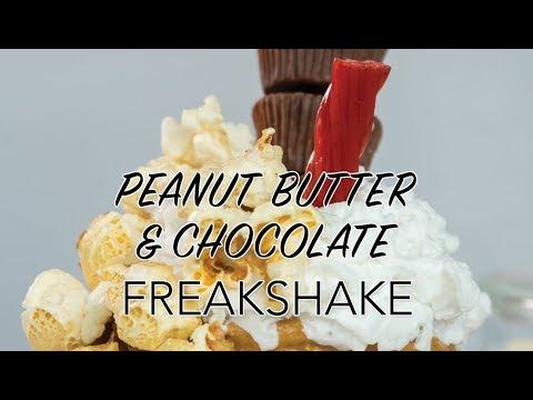 VEGAN MILKSHAKE | Peanut Butter & Chocolate Milkshake | The Edgy Veg