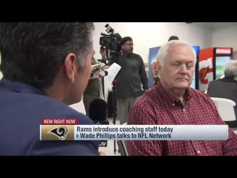 Wade Phillips discusses schematic changes on Rams defense   Feb 11, 2017
