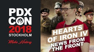 HOI4: News From The Front - PDXCON 2018
