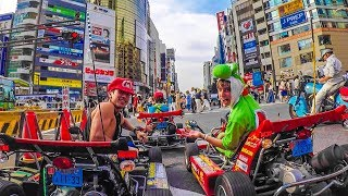 Download MARIO KART IN REAL LIFE! (Streets of Tokyo!) Mp3 and Videos