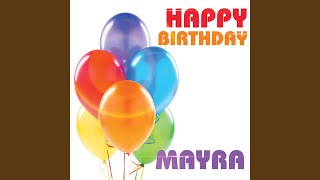 Happy Birthday Mayra