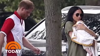 Meghan Markle, Kate Middleton Bring Their Kids To Charity Polo Match | TODAY