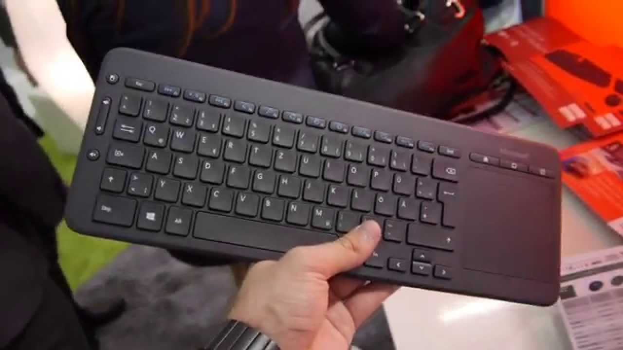 Microsoft All In One Media Keyboard Hands On