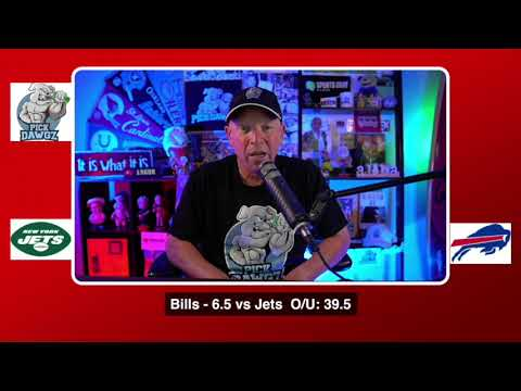 Buffalo Bills vs New York Jets NFL Pick and Prediction 9/13/20 Week 1 NFL Betting Tips