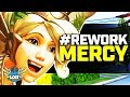 Overwatch - Rework Mercy? Everyone HATES Supports? (and Tanks?)