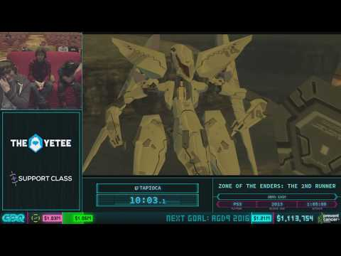 Zone of the Enders: The 2nd Runner by tapioca in 45:30 - AGDQ 2018 - Part 141