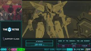 Zone of the Enders: The 2nd Runner by tapioca in 45:30 AGDQ 2018