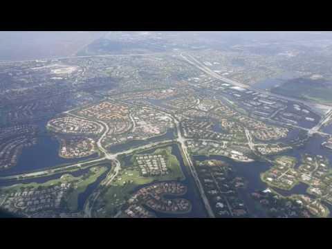 JetBlue A320 Landing At Fort Lauderdale Airport (FLL) - Flight 386 BGI - FLL