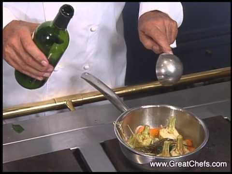Artichokes à la Barigoule by Roger Vergé - YouTube