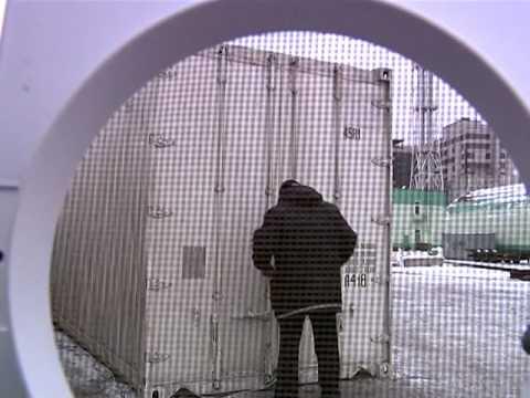 видео: Закрыли в рефконтейнере