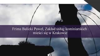 Usługi kominiarskie czyszczenie kominów Kraków Zakład usług kominiarskich