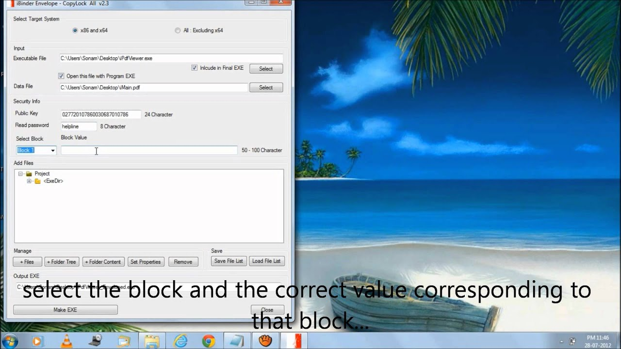 iBinder Envelope with CopyLock USB Dongle – Software Licensing and