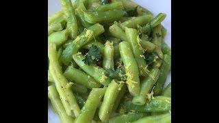 Green Beans With Lemon Butter