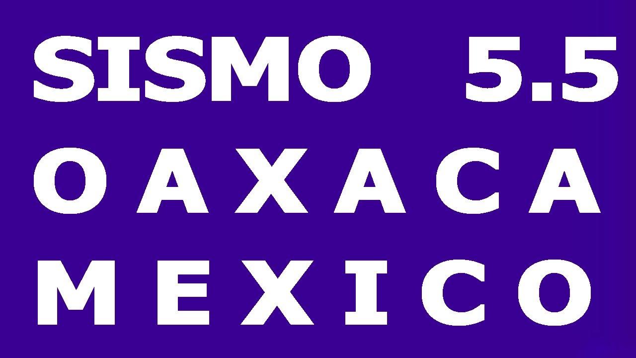 Sismo de 5.5 en pinotepan nacional Oaxaca Mexico Tenemos Sismo habra mas sismos con Hyper333