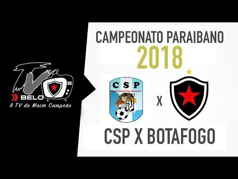 CSP X BOTAFOGO -PB CAMPEONATO PARAIBANO 2018 - ALMEIDÃO