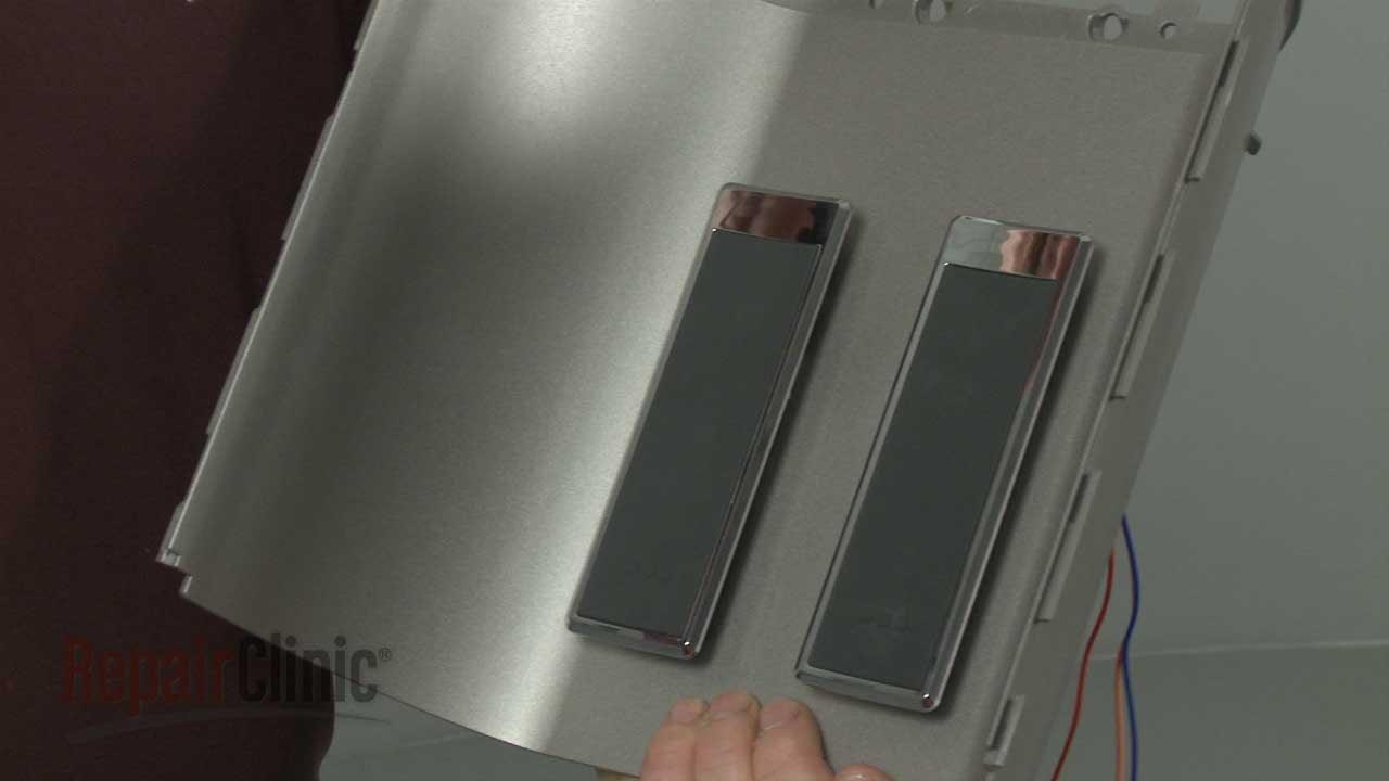 whirlpool refrigerator water dispenser switch