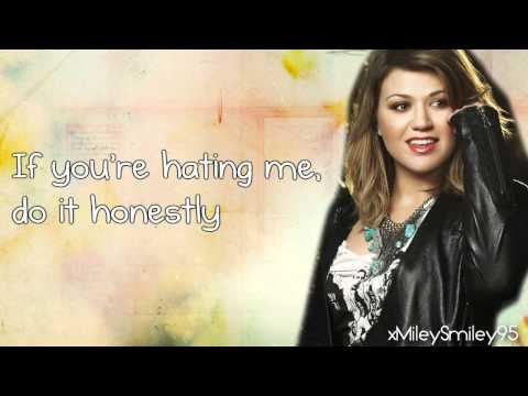 Kelly Clarkson - Honestly:歌詞+翻譯