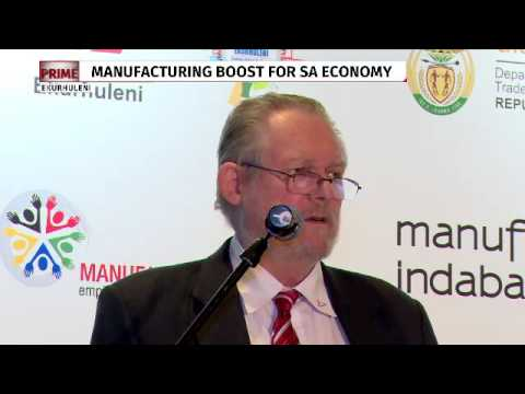 Manufacturing boosts SA economy