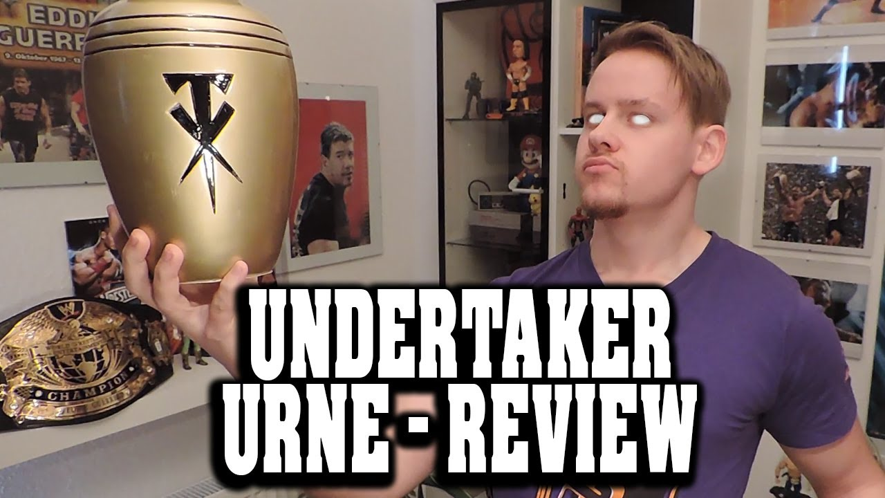 wwe undertaker urne replica review wweshop deutsch youtube. Black Bedroom Furniture Sets. Home Design Ideas