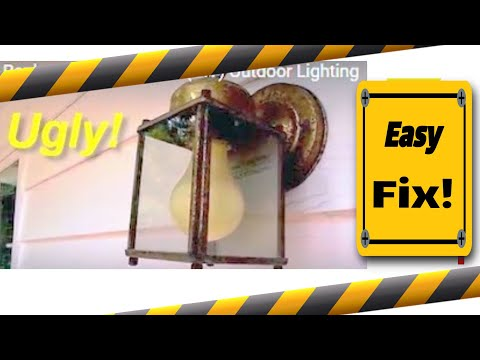 do it yourself outdoor lighting. Easy Replacement Of Ugly/Old Exterior Lights - Do It Yourself ~ Save Money! YouTube Outdoor Lighting
