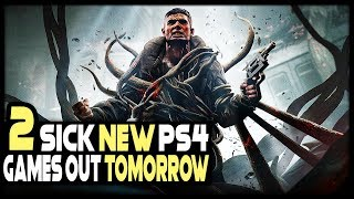 2 SICK NEW PS4 Games Out TOMORROW + PS4 Game REVEALED!