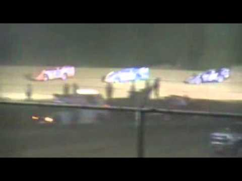 Muskingum Speedway Friday the 13th 2012 Feature Team GLR 2 of 2