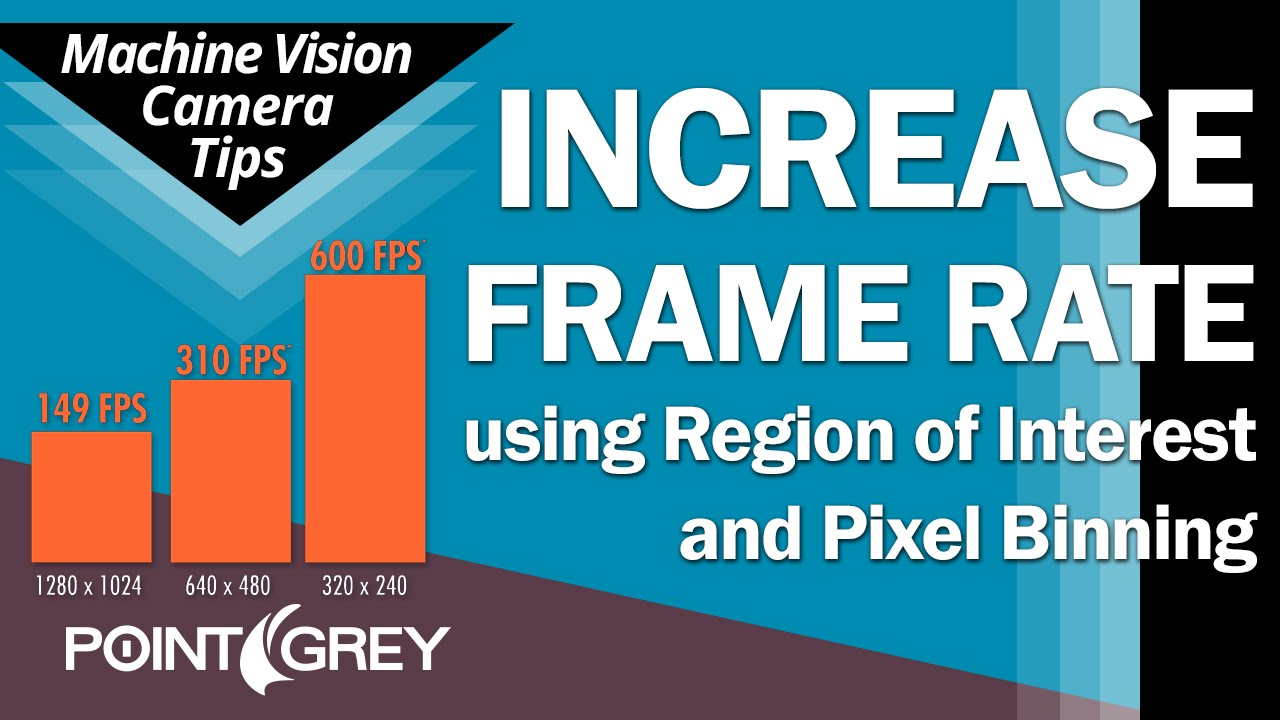 Increase Frame Rate: Region Of Interest (ROI) & Pixel Binning ...