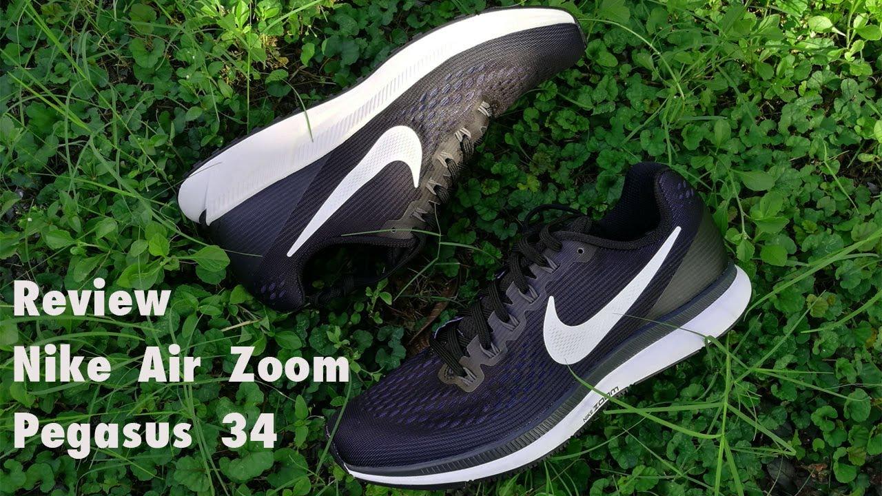 innovative design fa6bf 8966e รีวิวแกะกล่องรองเท้าวิ่ง Nike Air Zoom Pegasus 34