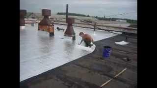 видео Организация гидроизоляционных и кровельных работ